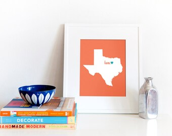Dallas / Fort Worth is My Home // 8x10 Digital Texas Print