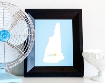 Concord is My Home // 8x10 Digital New Hampsire Print