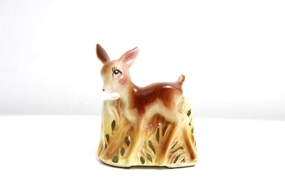 Oh My Deer Vintage Planter