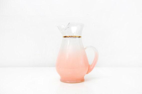 Pastel Pink Vintage Blendo Pitcher