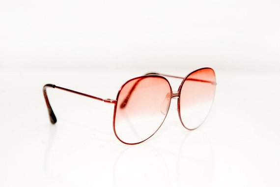Vintage Pink Ombre Foster Grant Sunglasses