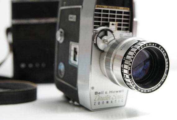 Vintage Bell and Howell Director Series 8mm Camera