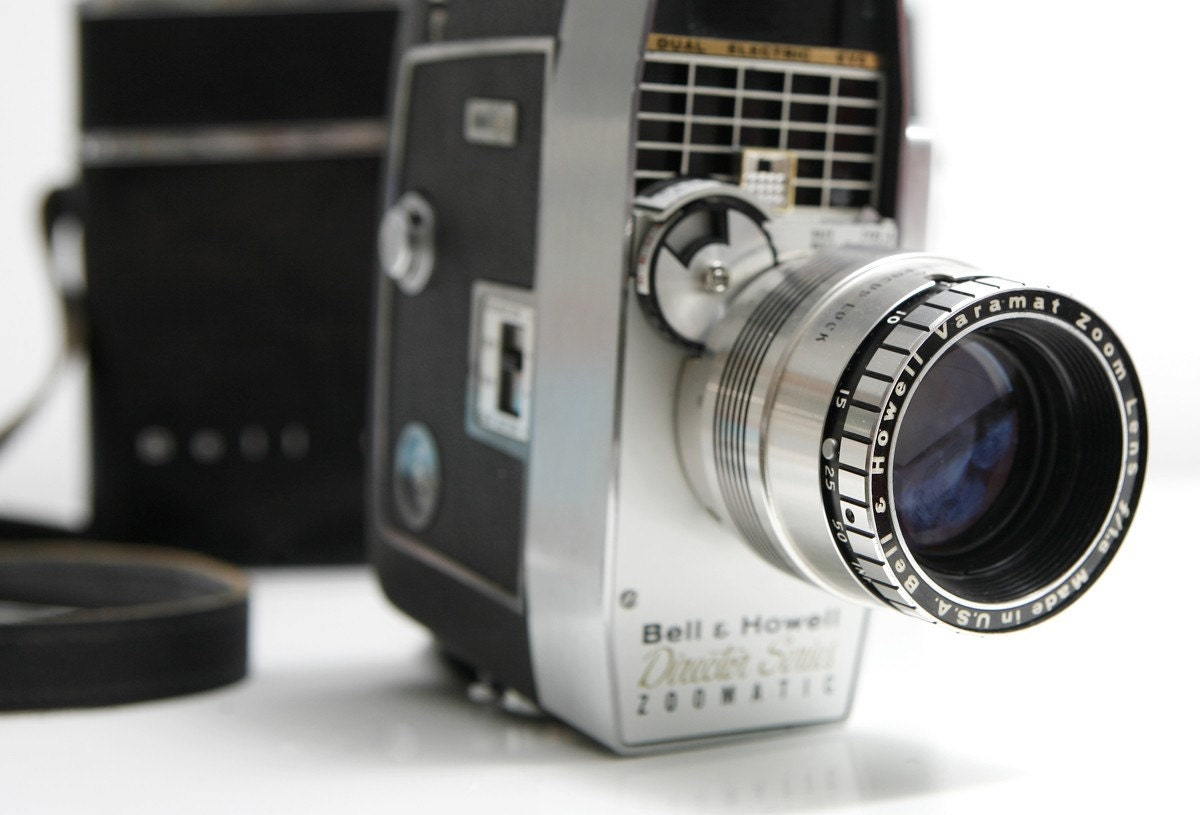 Vintage Bell And Howell Director Series 8mm By