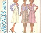 So Sweet Ladies Skirt, Blouse and Vest Pattern Sz 10
