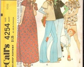 Sweet Shirt or Gown and PJ's Pattern Sz 6-8