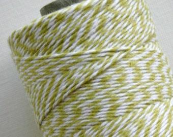 30 Yards - Honeydew - Chartreuse - Cotton Baker's Twine