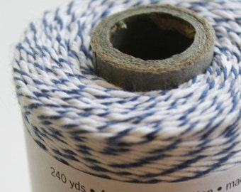 30 Yards - Blueberry - Navy - Divine Twine Baker's Twine