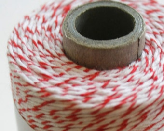 30 Yards - Red - Rouge - Divine Twine Baker's Twine
