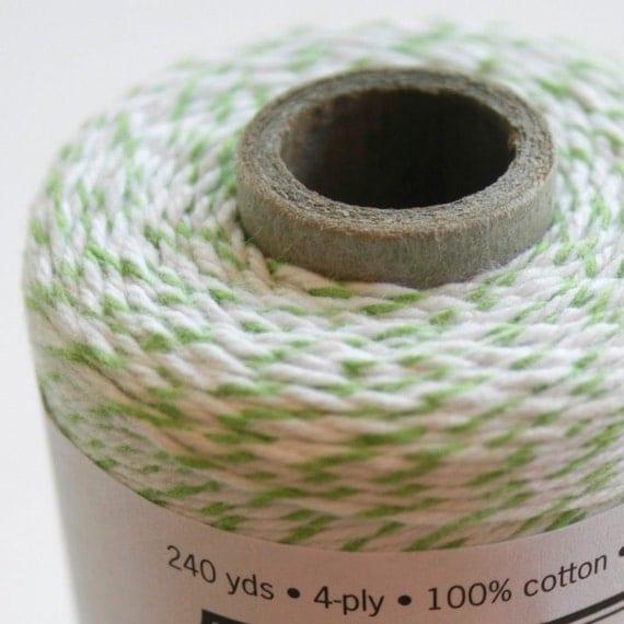 30 Yards - Apple - Green - Divine Twine Baker's Twine