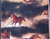 Horses Print Heating Pad Cover