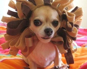 Lion Costume - Pet Dog Cat Halloween Costume