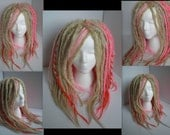 Knotty Cupid Heart Dreadlock Kit. Made to Order