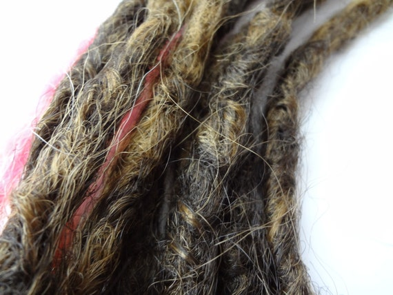 Reserved for MonsoonProject. Custom Knotty dreadlocks. Message me to set up custom order and listing.