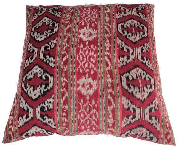 Ikat Pillows Set of 2 30 Floor Pillows