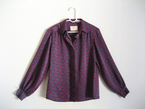PURPLE HAZE Pendleton Button Up Shirt S/M/L
