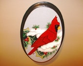 Oval Cardinal Plaque