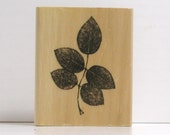 Dry Stem of Leaves Rubber Stamp planners Bible journaling
