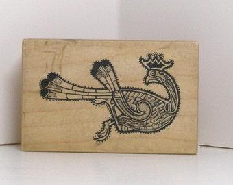 Native Design BIRD Rubber Stamp PSX Rare