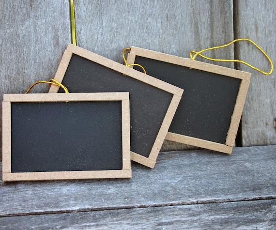 Mini Chalkboards-Set of 3