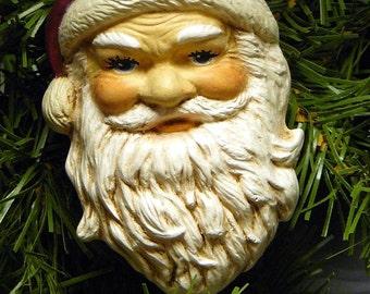 Ceramic Christmas Ornament - Good Ole Santa Claus