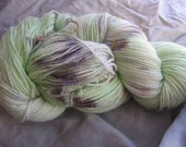 Mint Chocolate Chip - Soft Serve Sock Yarn