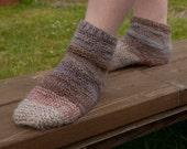 Idris Slouchy Socks - Knitting Pattern PDF