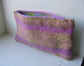 Inchworm - Handwoven Notion Pouch