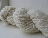 Dye On Arrival - Undyed Handspun Wool