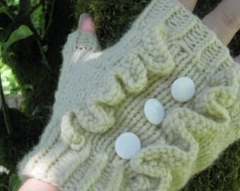 Dog Tuxedo Knitting Pattern : Marshmallow Peep Mitts Knitting Pattern PDF by dramallamayarn