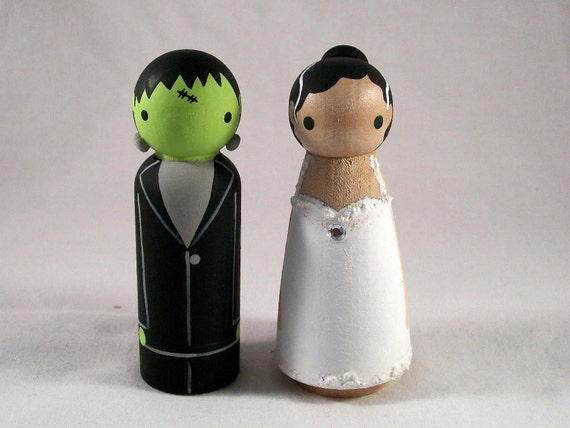Frankenstein and His Bride for a Haunting Good time