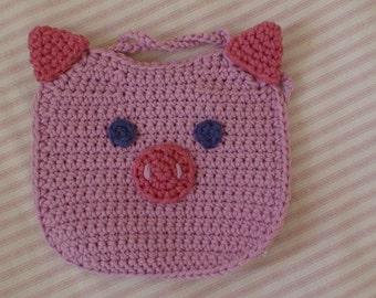 Piglet Baby Bib