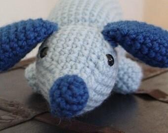 Blue Wiener Dog