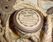 Ten Gallon Hat (peppercorn scent) - 4 oz western cowboy jar candles