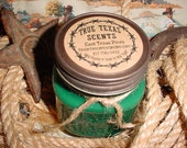 East Texas Pines ( Pine Scent) - 8 oz Western Cowboy Candle