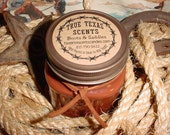 Boots 'n Saddles - (Leather Scent) 8 oz Western TEXAS Cowboy Candle