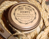 Cow Chip Chunkin' (Fudge Brownies) - 4 oz Texas Western Cowboy Candle
