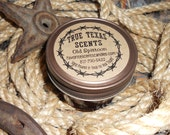 Old Spittoon - (Chewing Tobacco) Scented- 4 oz Western Cowboy mason jar candle