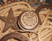 The Great Outdoors (wood scent) 4 oz western Texas cowboy candle