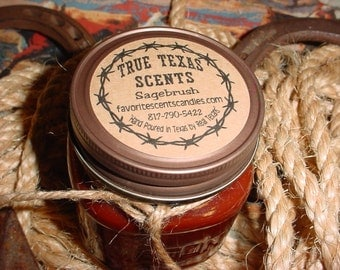 Pizza & Beer- 8 oz Western Cowboy Candle