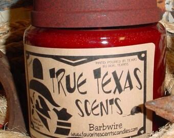 3 - 16 oz Western TEXAS Cowboy Candles - Special Price