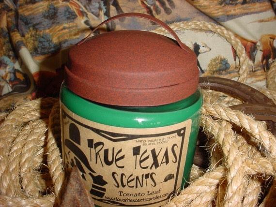 Tomato Leaf Scented - 16 oz Western Cowboy Candle