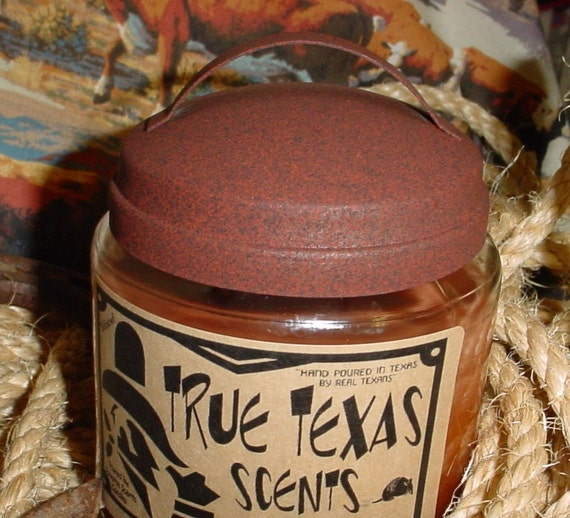 Southern Iced Tea - Scented 16 oz Western Cowboy Jar Candle - NEW