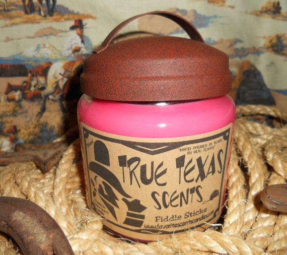 Fiddle Stickes (Red Currant) - 16 oz Western Cowboy Candle