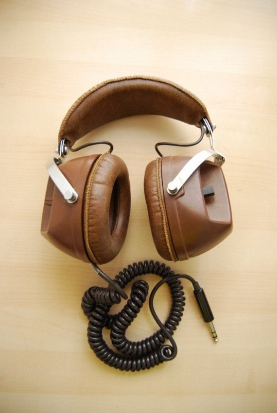 Mura Headphones In Carrying Case 70s Vintage Cool Audio