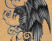 Pendant- Corviid's Ravens