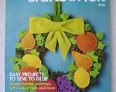 Vintage Craft Magazine - McCalls Christmas Crafts in Felt