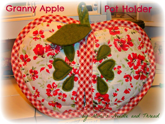 Granny Appy Handmade Pot Holder