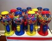 Personalized Bubble Gum Machines Party Favors