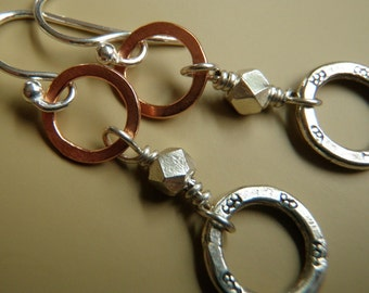 Daily Dangles - Copper, Hilltribe Thai Silver and Sterling Silver