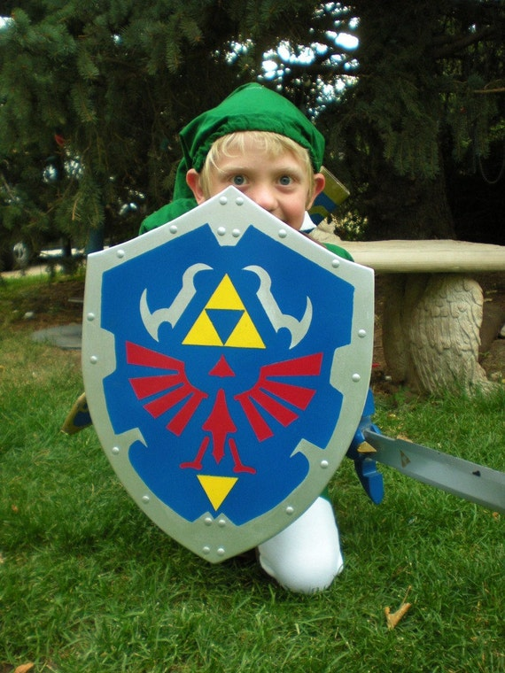 RESERVED listing for michelle  Link's Hylian Shield from the Legend of Zelda (Ocarina of Time design)